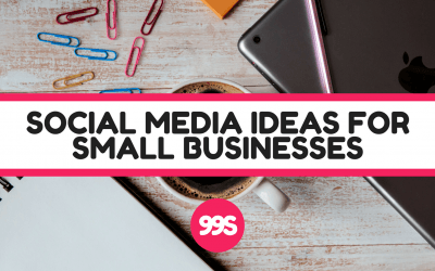 5 social media post ideas to help your business go further ↗️