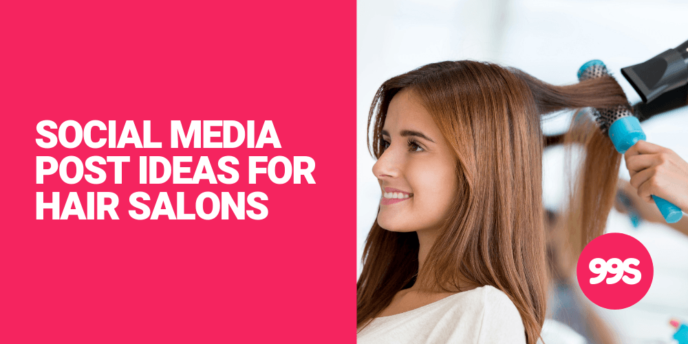 Social media post ideas for hair salons 💇‍♀️