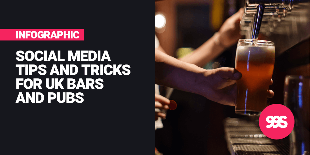 Infographic: Social media tips for bars and pubs