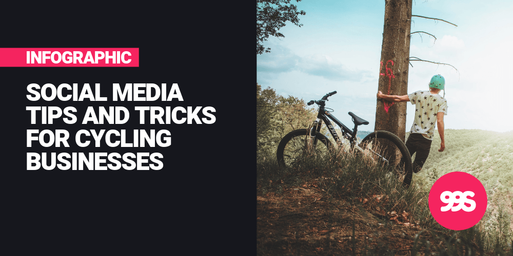 Infographic: Social media tips for cycling businesses