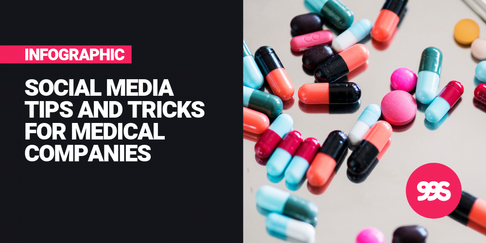 Infographic: Social media tips for health and medical companies