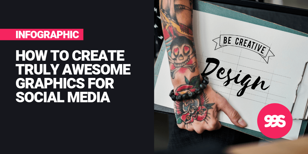 Infographic: Tips for creating social media graphics