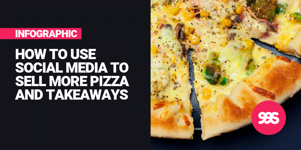 Infographic: How to sell more pizzas using social media 🍕