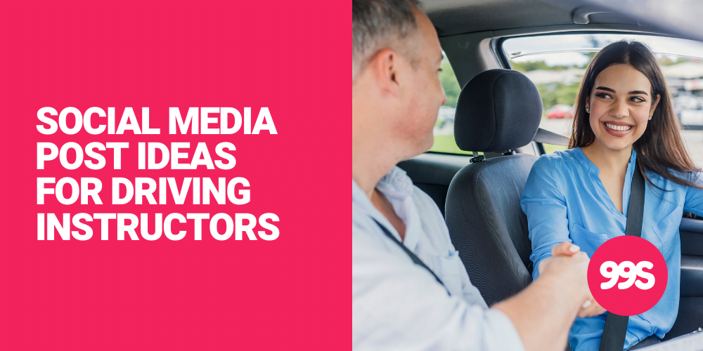 Social media post ideas for driving instructors 🚙