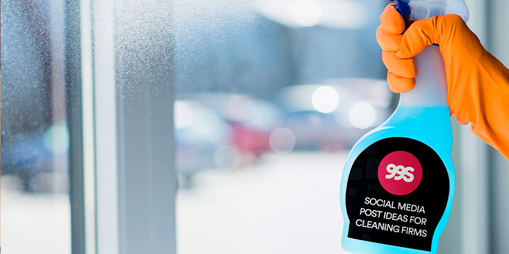 Social media post ideas for cleaners and cleaning companies