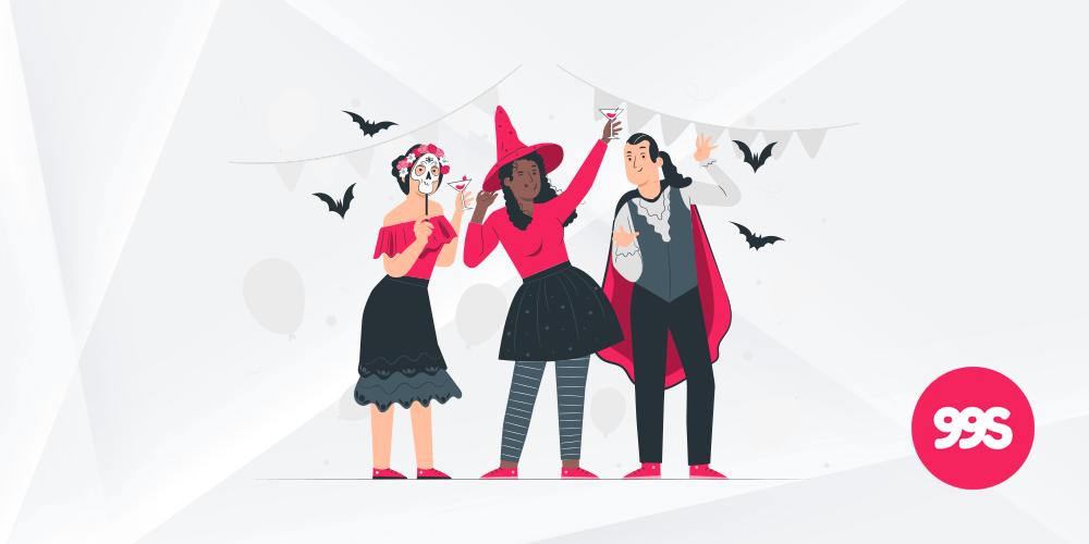Social media post ideas for Halloween