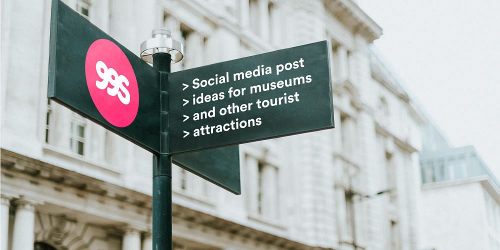 Social media post ideas for museums and exhibitions