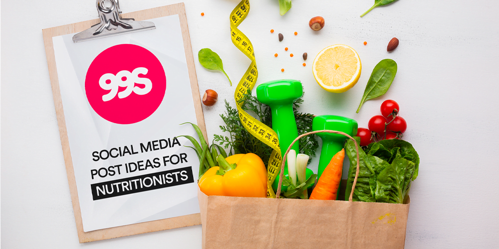 Social media post ideas for nutritionists