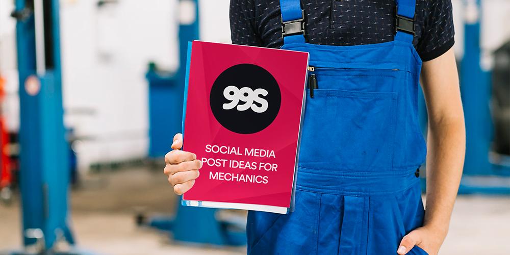 Social media post ideas for mechanics